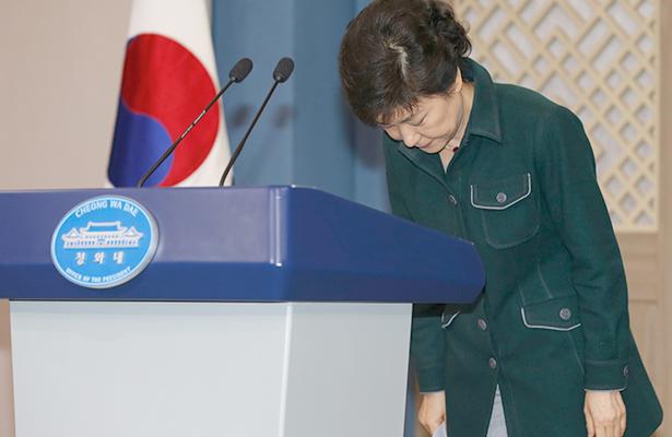 Tensión en Surcorea: Congreso avala destituir a presidenta Park Geun-Hye
