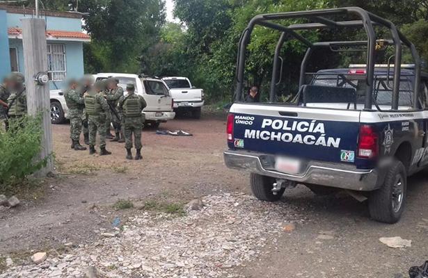 Enfrentamiento armado en Parácuaro