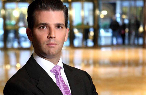 Tras polémica rusa, hijo de Trump protagoniza portada de la revista Time