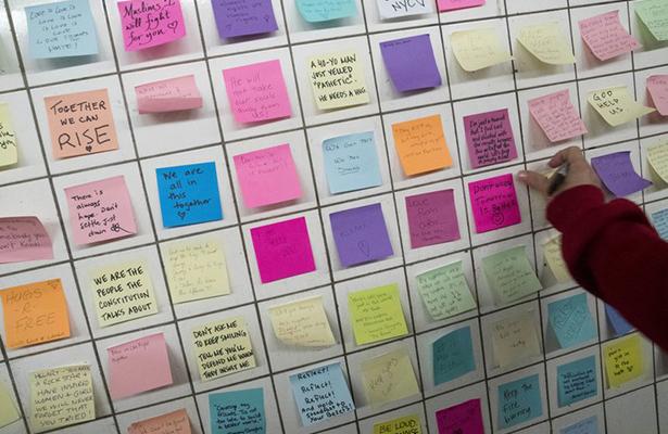 Mensajes dejados en el Metro de NYserán una colección de museo