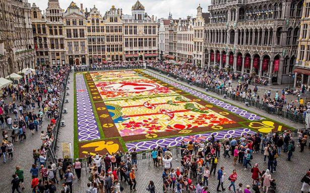De México para el mundo: Guanajuato será protagonista del tapiz de flores en la Grand Place de Bruselas