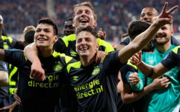 ¡Llegó la 24! PSV y el Chucky se coronan campeones de la Eredivisie
