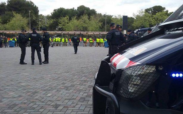 Acordonan la Sagrada Familia en Barcelona por operación antiterrorista