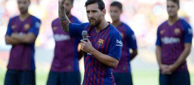 Lionel Messi, prometió a la afición azulgrana ganar la Champions League
