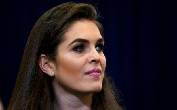 Hope Hicks, la ex modelo que releva a Scaramucci en la Casa Blanca