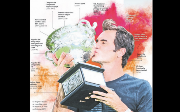 El mejor de todos los tiempos: Roger Federer