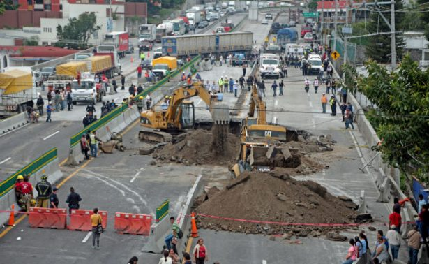 CNDH solicita medidas cautelares para evitar tragedia como en el Paso Express