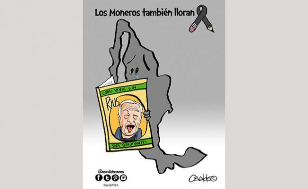 """Moneros se sienten """"huérfanos"""" conpartidade Rius"""