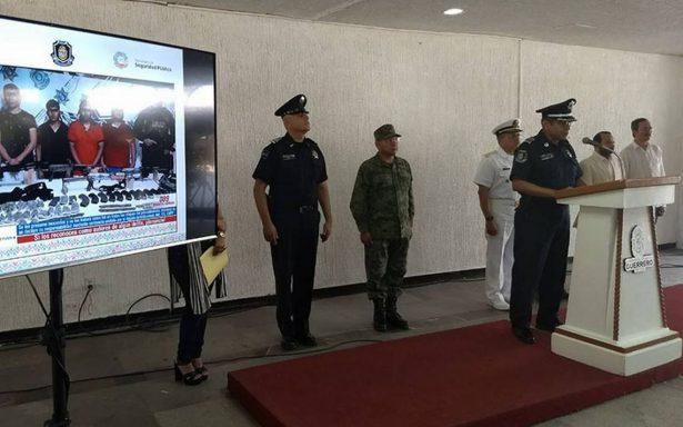 Detienen a cuatro personas vinculadas con homicidio de policías en Zihuatanejo