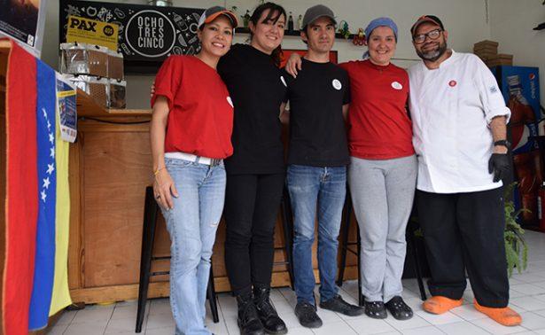 Son talentosos y son de Venezuela; encuentran refugio en México