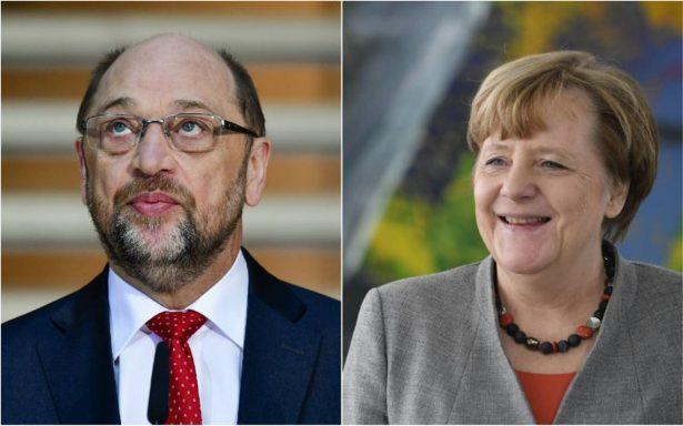 Merkel y Schulz criticados por sus propios partidos