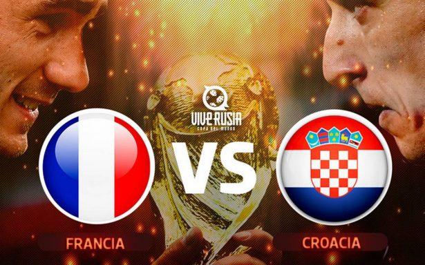 A qué hora y dónde ver la final del Mundial Rusia 2018