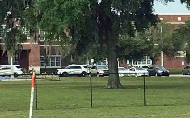 Tiroteo en escuela de Florida deja al menos un herido