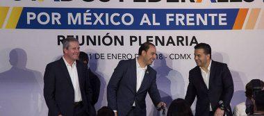 Marko Cortés pide mantener la unidad del Frente en Michoacán