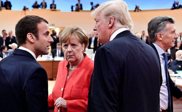 Macron busca seducir a Trump para que respete Acuerdo de París