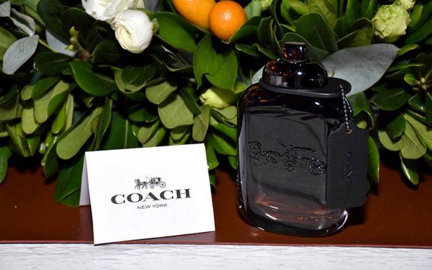 Lanzan nueva fragancia masculina de la firma Coach