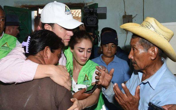 """""""Despeinada y mal arreglada"""", Anahí pide ayuda para víctimas de sismo"""