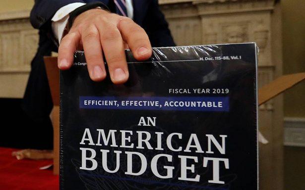 Revelan plan presupuestario de EU
