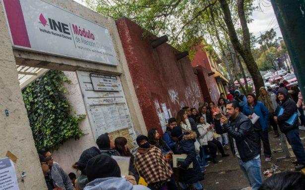 La próxima semana vence el plazo para solicitar duplicado de credencial del INE