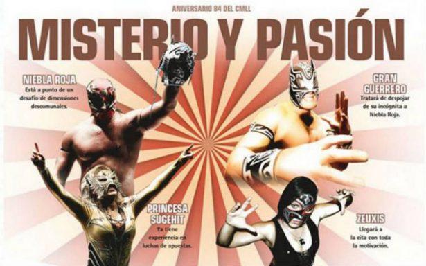 ¿Dónde ver en vivo el Aniversario 84 del CMLL?