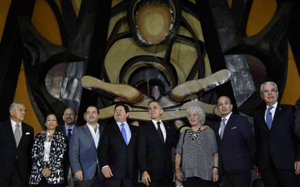 Al rescate del Polyforum Siqueiros, anuncian fideicomiso por 30 mdp