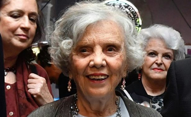 Elena Poniatowska celebra con reconocimientos su 87 aniversario