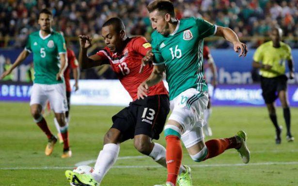 México viene de atrás, vence 3-1 a Trinidad y Tobago y mantiene el invicto