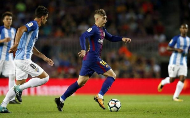 ¡Insólito! Barcelona vence al Málaga con polémico gol