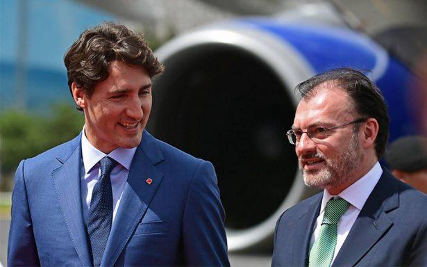 Justin Trudeau llega a México para visita oficial de dos días