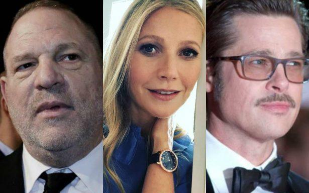 Brad Pitt desafió a Weinstein en defensa de Gwyneth Paltrow