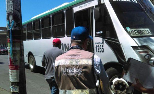 Sancionarán a transportistas que no enciendan aire acondicionado por ola de calor