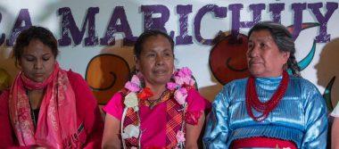 Grupo armado ataca caravana de la precandidata independiente Marichuy en Michoacán