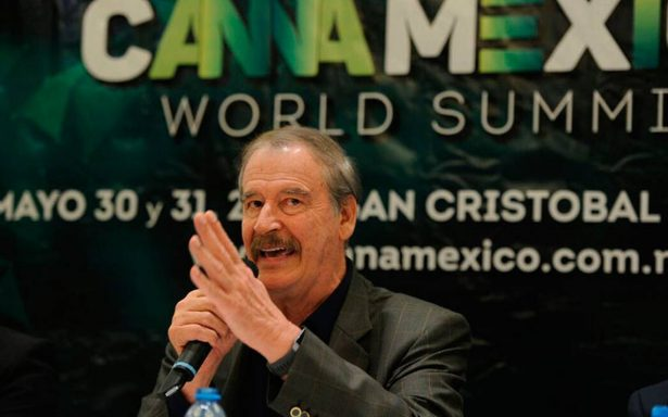 """Vicente Fox propone legalizar la marihuana: """"hay que golpear las finanzas del crimen organizado"""""""