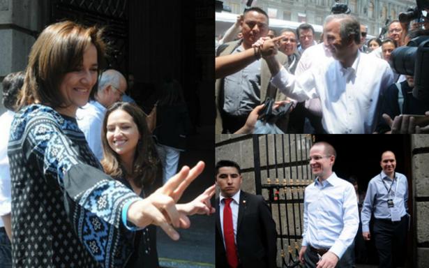 Candidatos ensayan en Palacio de Minería para debate presidencial