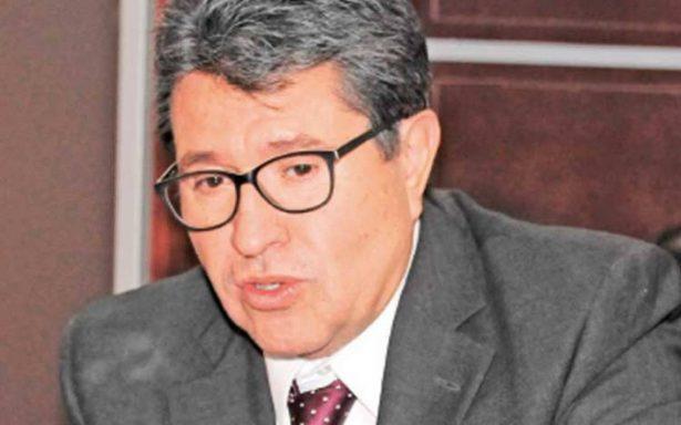 Cambiaremos estrategia ante fracaso en seguridad pública: Ricardo Monreal