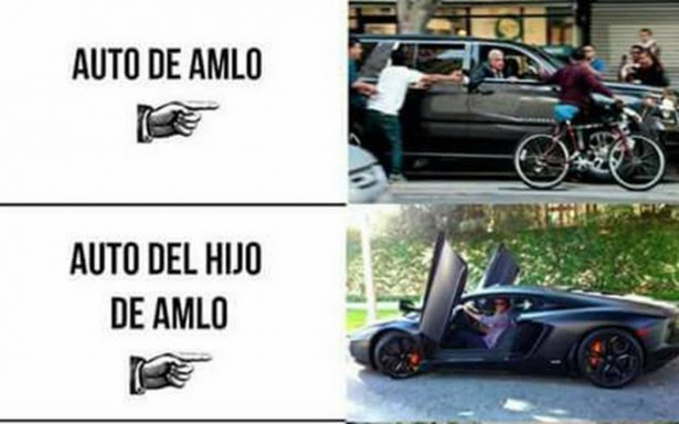 ¿Autos de lujo en la familia de AMLO? Verificado MX te cuenta la verdad