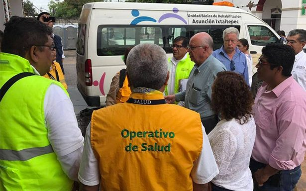 Oaxaca y Chiapas sin riesgo sanitario después del sismo Cofepris
