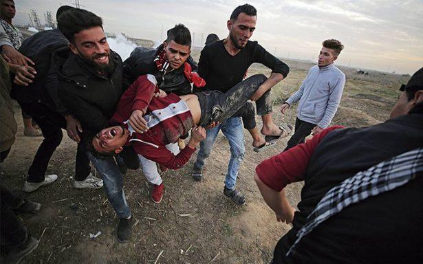 Israel responde con bombardeo; mueren dos palestinos
