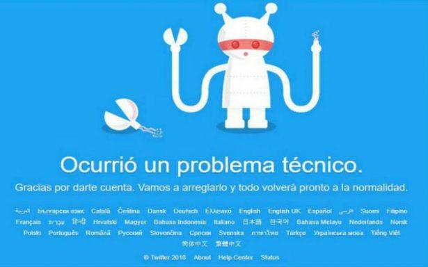 Twitter se cae a nivel mundial