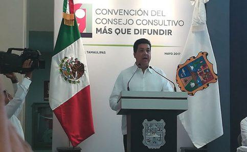 Inaugura García Cabeza de Vaca convención de la CNIRT en Tampico
