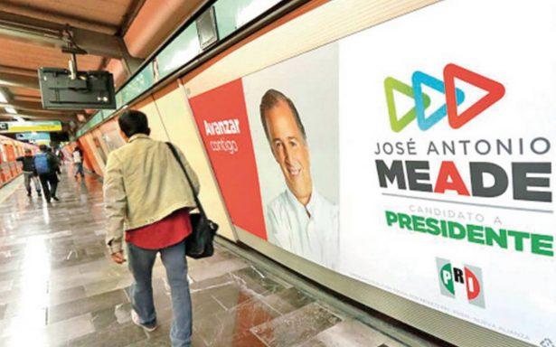 Cuatro firmas concentran dinero de los candidatos presidenciales