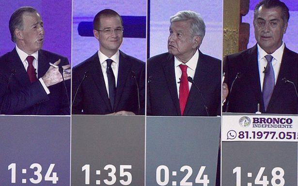 Sin Zavala, El Bronco abre y cierra el segundo debate presidencial