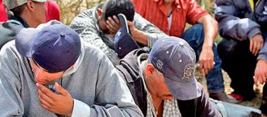 Detienen a 122 migrantes en Tamaulipas