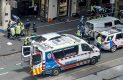 Automovilista embiste a transeuntes, hay tres muertos y 20 heridos