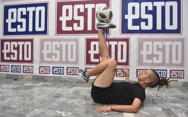 Campeona del mundo en Footbag, Paloma Pujol es orgullo de México