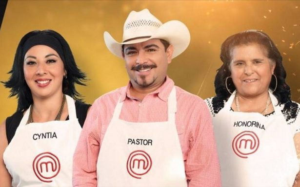 Honorina, Pastor y Cyntia preparan mandiles para el platillo final en MasterChef 2017