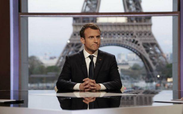 Bombardeos en Siria no fueron una declaración de guerra: Macron