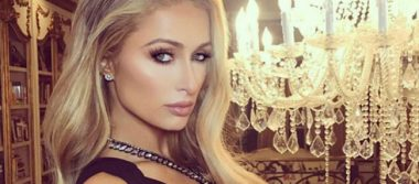 Paris Hilton derrocha sensualidad al posar semidesnuda en fotografía