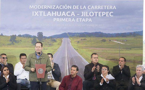 Realiza Eruviel Ávila última gira como gobernador del EdoMex