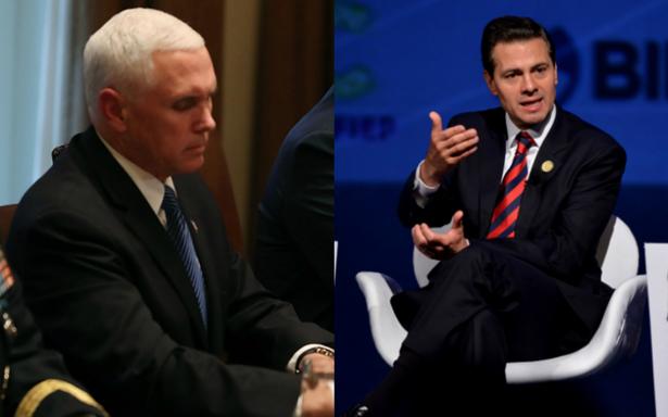 Mike Pence se reunirá con Peña Nieto en la Cumbre de las Américas